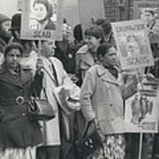 Workers At The Grunwick Laboratories Offered Council Houses Art Print