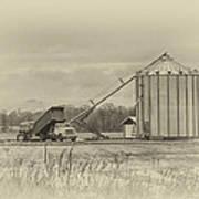 Working Farm Art Print