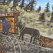 The Coal Mine Art Print