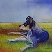 Working Man's Dog Art Print