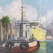Working Waterfront Art Print