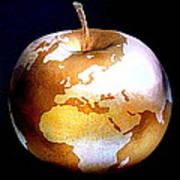 World Apple Art Print