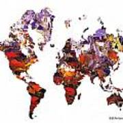 World Atlas Art Print