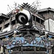 World Of Disney Signage Downtown Disneyland Sc Art Print