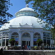 World Of Plants Building At The New York Botanical Gardens Art Print
