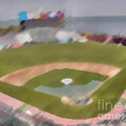World Series Batting Practice - Att Park Art Print
