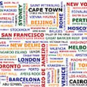 World Travel Art Print