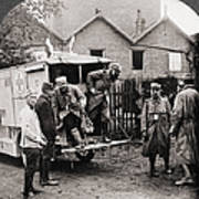 World War I: Ambulance Art Print