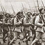 World War I Paris, C1917 Art Print