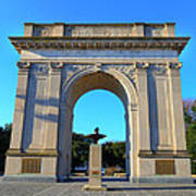 World War I Victory Arch Newport News Art Print
