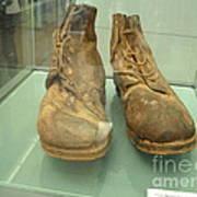 World War One Boots Art Print