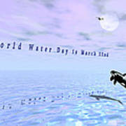 World Water Day Art Print
