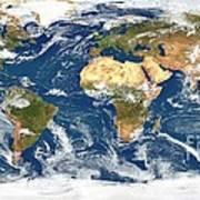 World Weather Satellite Image Shower Curtain For Sale By - World weather satellite images