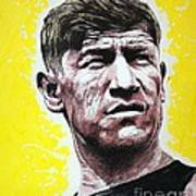 Worlds Greatest Athlete Print by Chris Mackie