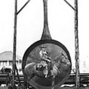 World's Largest Frying Pan Art Print