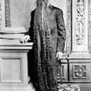 World's Longest Beard Art Print