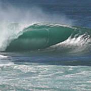 World's Most Perfect Wave . . . Art Print