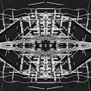 Worm Hole Generator Art Print