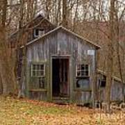 Worn Out Shed Art Print