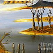 Woronorda Dam Art Print