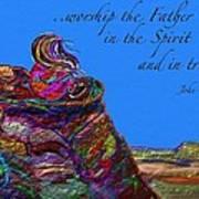 Worship The Father Art Print