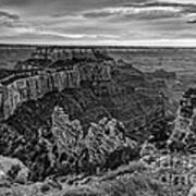 Wotan's Throne North Rim Grand Canyon National Park - Arizona Art Print