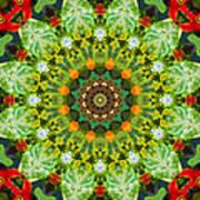 Wreath Kaleidoscope Art Print