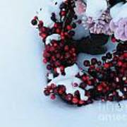 Wreathing Winter Sorrows Art Print