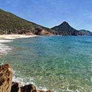 Wreck Beach Shoal Bay Port Stephens Art Print