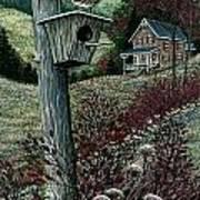 Wren House Art Print