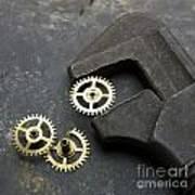 Wrench Art Print