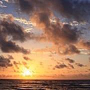 Wrightsville Beach At Sunrise Art Print