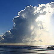 Wrightsville Beach Skyscape Art Print