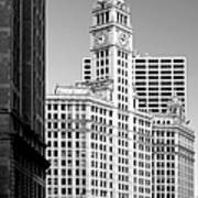 Wrigley Building - A Chicago Original Art Print