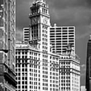 Wrigley Building Chicago Illinois Art Print