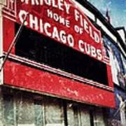Wrigley Red Art Print by Jame Hayes