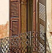 Wrong Balcony Romeo Art Print