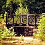 Wrought Iron Bridge Art Print