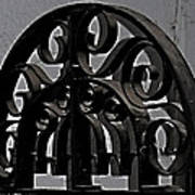 Wrought Iron Art Print