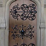 Wrought-iron Door Art Print