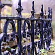 Wrought Iron Fence 1 Art Print