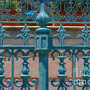 Wrought Iron Fence Art Print