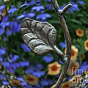 Wrought Iron Garden Art Print