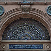 Wrought Iron Grille - The Omaha Building Art Print