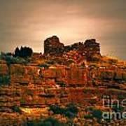 Wupatki National Monument-ruins V13 Art Print