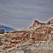 Wupatki National Monument-ruins V15 Art Print