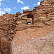 Wupatki Pueblo Ruin Art Print