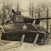 Ww II Battle Of The Bulge 02 Art Print