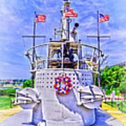 Ww II Submarine Memorial Art Print