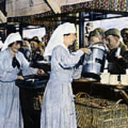 Ww1: Red Cross, 1918 Art Print